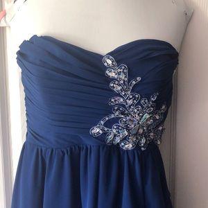 B. Darlin Short Royal Blue Dress